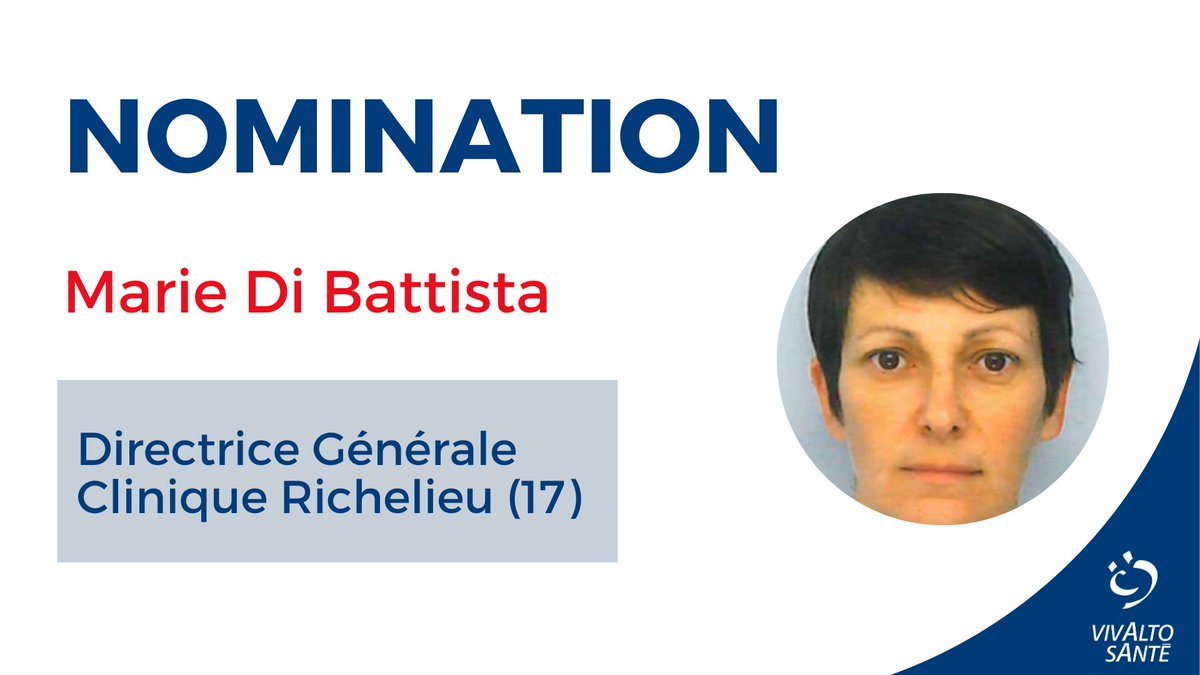Nomination de Marie Di Battista à Saintes