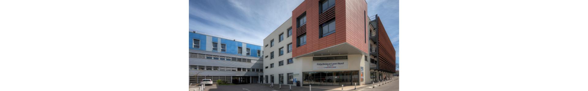 façade de la Polyclinique Lyon-Nord