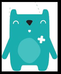 Logo Hopidou - Parcours enfant - Vivalto Santé
