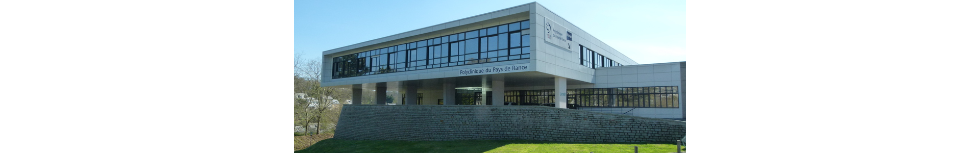 Façade Polyclinique du Pays de Rance - Dinan